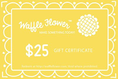 Waffle Flower Crafts