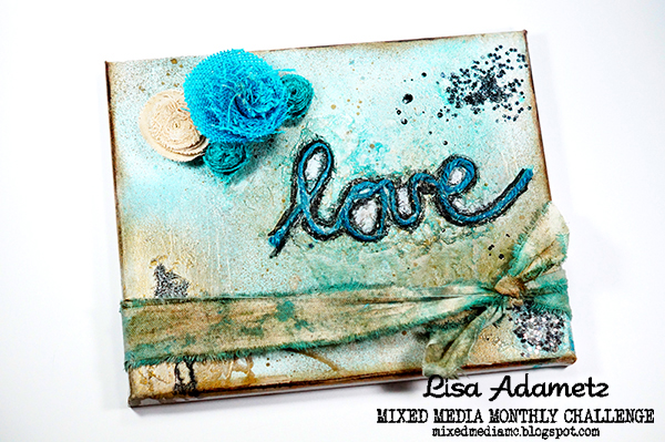 Lisa Adametz Rustic Love Canvas