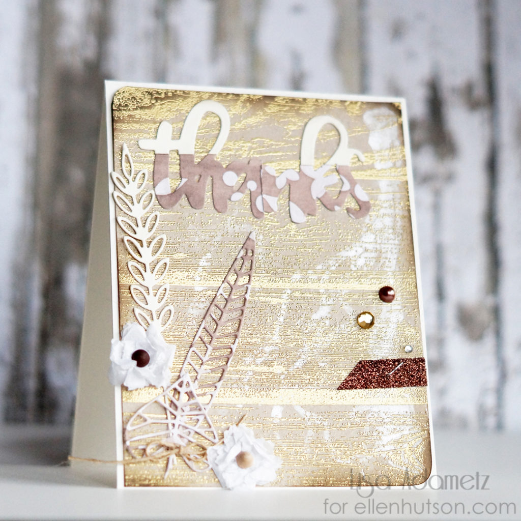 Lisa Adametz Concord & 9th Thanks Card